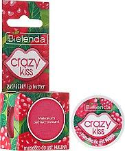 """Парфюмерия и Козметика Масло за устни """"Малина"""" - Bielenda Crazy Kiss Raspberry Lip Butter"""