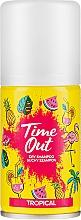 Парфюмерия и Козметика Сух шампоан за коса - Time Out Dry Shampoo Tropical