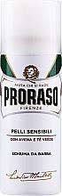 Парфюмерия и Козметика Пяна за бръснене за чувствителна кожа - Proraso White Shaving Foam