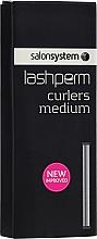 Парфюмерия и Козметика Уред за извиване на мигли , среден размер - Salon System Lashlift Curling Rods Medium