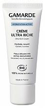 Парфюмерия и Козметика Активен хидратиращ крем за лице - Gamarde Hydratation Active Ultra Rich Cream