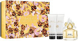 Парфюми, Парфюмерия, козметика Marc Jacobs Daisy - Комплект (edt/50ml + sh/gel/75ml + b/lot/75ml)