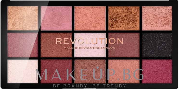 Палитра сенки за очи - Makeup Revolution Division Re-loaded Palette — снимка Affection