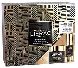 Парфюми, Парфюмерия, козметика Комплект за лице - Lierac Premium Voluptuous (околоочен крем/15ml + крем/50ml)