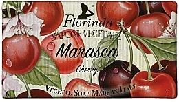 Парфюмерия и Козметика Натурален сапун с череша - Florinda Cherry Natural Soap