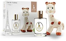 Парфюмерия и Козметика Parfums Sophie La Girafe Eau de Toilette - Комплект (тоал. вода/100ml+играчка)