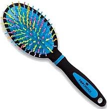 Парфюми, Парфюмерия, козметика Четка за коса, 63992, синя - Top Choice Multicolor