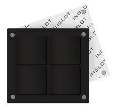 Парфюмерия и Козметика Празна магнитна палитра за грим - Inglot Freedom System Square Palette-4