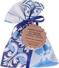 Парфюмерия и Козметика Ароматно саше, бяло-сини, лавандула - Essencias De Portugal Tradition Charm Air Freshener
