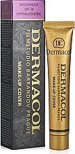 Парфюмерия и Козметика Крем фон дьо тен с подобрени свойства - Dermacol Make-Up Cover