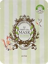 Парфюмерия и Козметика Балансираща маска за лице със зелен чай - A:t fox Balancing Green Tea Mask