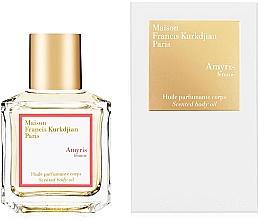 Парфюмерия и Козметика Maison Francis Kurkdjian Amyris Femme - Парфюмно масло за тяло