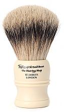 Парфюмерия и Козметика Четка за бръснене, SH2 - Taylor of Old Bond Street Shaving Brush Super Badger Size M