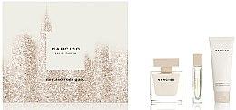 Парфюми, Парфюмерия, козметика Narciso Rodriguez Narciso - Комплект (edp/90ml + b/lot/75ml + edp/10ml)