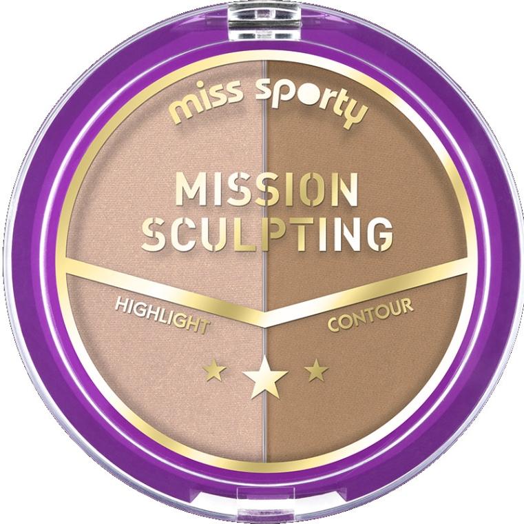 Палитра за контуриране - Miss Sporty Mission Sculpting