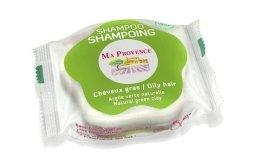"""Парфюмерия и Козметика Твърд био шампоан за мазна коса """"Зелена глина"""" - Ma Provence Shampoo"""