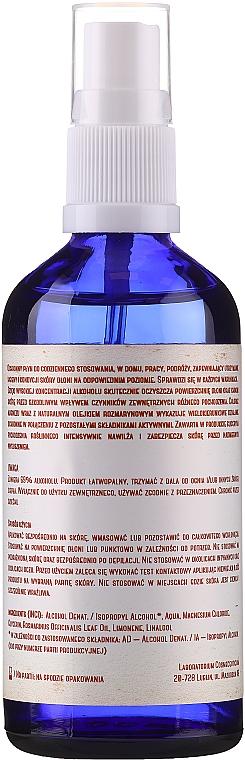 Антибактериална течност за ръце - Polny Warkocz Kaliber 69% — снимка N2