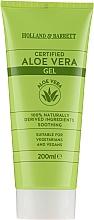 Парфюмерия и Козметика Гел за тяло с алое вера - Holland & Barrett Certified Aloe Vera Gel