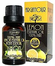 Парфюмерия и Козметика Етерично масло от лимон - Arganour Essential Oil Lemon