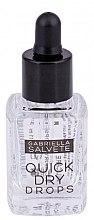 Парфюми, Парфюмерия, козметика Средство грижа за ноктите - Gabriella Salvete Nail Care Quick Dry Drops