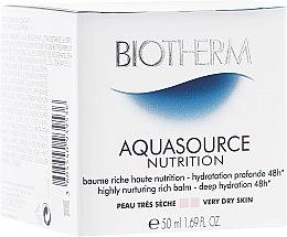 Парфюми, Парфюмерия, козметика Овлажняващ балсам за суха кожа - Biotherm Aquasource Nutrition