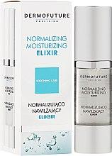 Парфюмерия и Козметика Нормализиращ овлажняващ еликсир - DermoFuture Normalizing Moisturizing Elixir