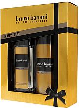 Парфюми, Парфюмерия, козметика Bruno Banani Man's Best - Комплект (спрей за тяло/75ml + дезодорант/150ml)