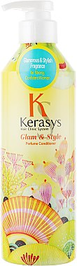 Изглаждащ парфюмен балсам за всеки тип коса - KeraSys Glam & Stylish Perfumed Rince