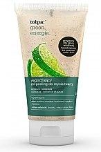 Парфюми, Парфюмерия, козметика Измиващ гел-пилинг за лице - Tolpa Green Energia Gel Peeling
