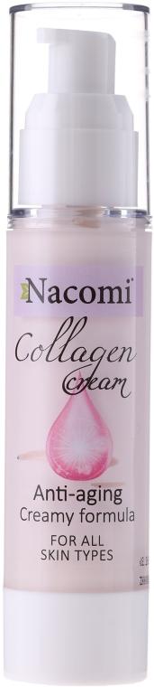 Крем за лице - Nacomi Collagen Cream Anti-aging