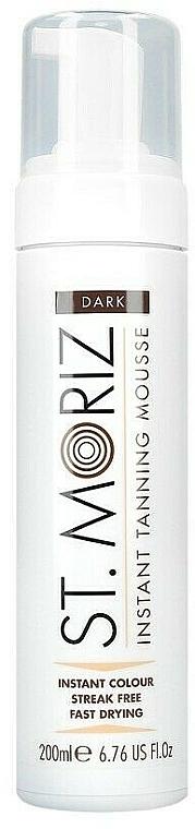 Мус автобронзант за тяло - St. Moriz Instant Tanning Mousse Dark