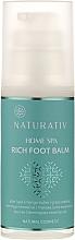 Парфюмерия и Козметика Балсам за крака - Naturativ Home Spa Rich Foot Balm