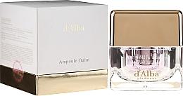 Парфюмерия и Козметика Изсветляващ крем за лице с екстракт от бял трюфел - D'Alba Ampoule Balm White Truffle Whitening Cream