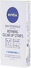 Парфюмерия и Козметика Нежни почистващи лентички - Nivea Visage Clear Up Strips