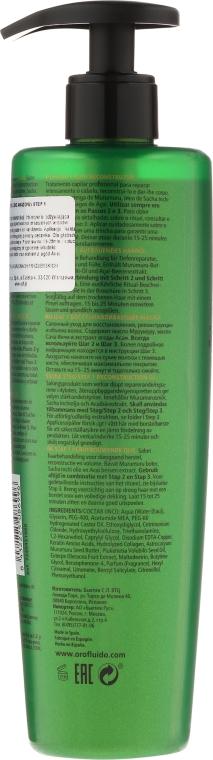 Възстановяващо масло за коса, с отмиване - Orofluido Amazonia 1 Step Reconstruction Oil — снимка N2