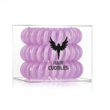 Парфюми, Парфюмерия, козметика Силиконови ластици за коса, лилав - HH Simonsen Hair Cuddles