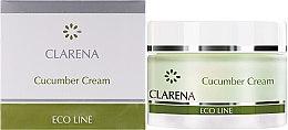 Парфюми, Парфюмерия, козметика Почистващ крем с екстракт от краставици - Clarena Eco Line Cucumber Cream