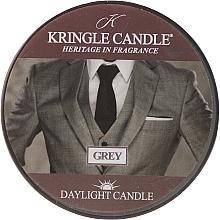 Парфюмерия и Козметика Ароматна чаена свещ - Kringle Candle Grey Daylight