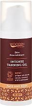Парфюмерия и Козметика Интензивно масло за тен - Wooden Spoon Intense Tanning Oil