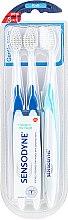 Парфюмерия и Козметика Комплект четки за зъби - Sensodyne Gentle Care Soft Toothbruhs