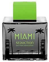 Парфюмерия и Козметика Antonio Banderas Miami Seduction in Black - Тоалетна вода