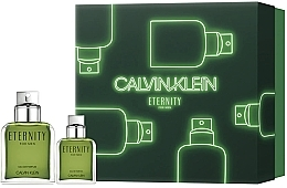 Парфюмерия и Козметика Calvin Klein Eternity For Men 2019 - Комплект (парф. вода/100ml + парф. вода/30ml)