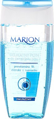 Двуфазен почистващ лосион за премахвене на очен грим - Marion Delicate Two-Phase Eye Makeup Remover
