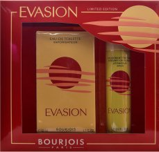 Парфюми, Парфюмерия, козметика Bourjois Evasion - Комплект тоалетна вода и дезодорант (edt/50ml + deo/75ml)