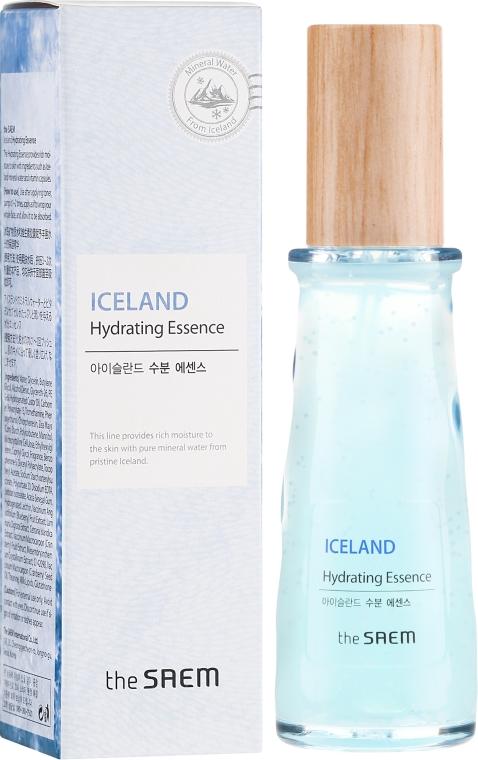 Минерална хидратираща есенция за лице - The Saem Iceland Hydrating Essence — снимка N1