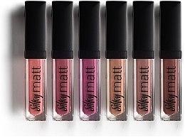 Течно матово червило - Paese Silky Matt Nude Collection Lipstick — снимка N3