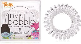 Парфюми, Парфюмерия, козметика Ластици за коса - Invisibobble Troll Sparkling Clear