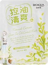 Парфюми, Парфюмерия, козметика Освежаваща маска с екстракт от зелен чай - BioAqua Natural Extract Mask