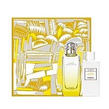 Парфюми, Парфюмерия, козметика Hermes Le Jardin de Monsieur Li - Комплект (тоал. вода/100ml + лосион за тяло/80ml)