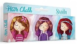 Парфюми, Парфюмерия, козметика Комплект цветни тебешири за коса - Snails Hair Chalk